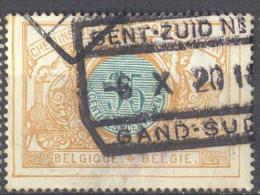 _3T934: TR33: GENT-ZUID N°1  /  -6 X 20 14  / GAND-SUD... Een Week Voor De Bezetting 14-18 !! (12.10.14)  ( - Spoorwegen