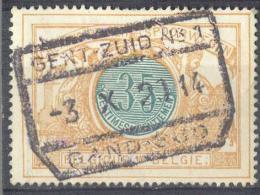 _3T933: TR33: GENT-ZUID N°1  /  -3 X 21 14  / GAND-SUD... Een Week Voor De Bezetting 14-18 !! (12.10.14)  ( - Spoorwegen