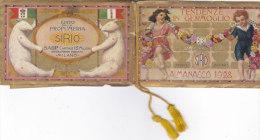 """CALENDARIETTO  """"TENDENZE IN GERMOGLIO""""  EDITO PROFUMERIA SIRIO MILANO      1928  -2--0882-18870-869 - Petit Format : 1901-20"""