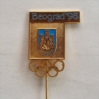 Badge / Pin (Olympic / Olimpique) - Yugoslavia Beograd (Belgrade) (Candidate) 1996 - Olympic Games