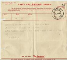 =ISRAEL 1944 TELEGRAM - Cartas