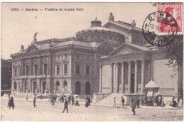 1050.   -  Genève.   -  Théâtre  Et  Musée  Rath - GE Genève