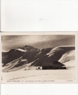 VALLS D´ANDORRA Port D´Envalira I. Refugi Fray Miquel - Photo V.Claverol - Carte Grand Format-2 SCANS - Andorra