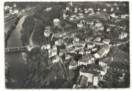 Cambo-les-bains (64) : Vue Aérienne Générale Au Niveau Du Fronton En 1951 (animé) GF. - France