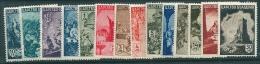 Bulgaria 1942 MH SG 513-26 - Unused Stamps