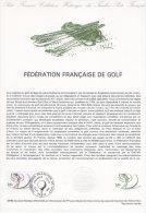 """Document Officiel De 1980 N° 33-80 """" GOLF """" N° YT 2105 + Prix Dégressif. DPO"""