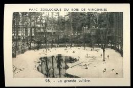 LA GRANDE VOLIERE N°98 Parc Zoologique Du Bois De Vincennes - Animales
