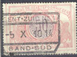 _3T929: TR36: GENT-ZUID Nr1  /  -5 X 10 14  / GAND-SUD... Een Week Voor De Bezetting 14-18 !! (12.10.14)  ( - Spoorwegen