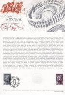 """Document Officiel De 1980 N° 27-80 """" FREDERIC MISTRAL """" N° YT 2098 DPO - Ecrivains"""