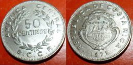 50 Centimos 1972 Republica De COSTA RICA - Costa Rica
