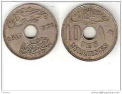 10 Millimes 1917 Egypt - Egypte