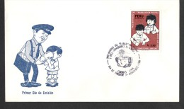 PERU - 1986 - FDC - Christmas Charity For Children And Postal Workers - VF New - Pérou