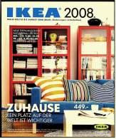 IKEA Katalog 2008  -  Zuhause  -  Kein Platz Auf Der Welt Ist Wichtiger  -  380 Seiten - Catalogues