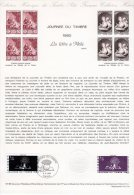"""Document Officiel De 1980 N° 07-80 """" JDT 1980 : LA LETTRE A MELIE """" N° YT 2078 + Prix Dégressif. DPO - Postdokumente"""