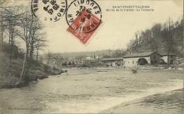 SAINT PRIEST  TAURION.  Bords De La Vienne.  La Tannerie. - Saint Priest Taurion