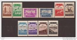 CJ102-L4103. Maroc.Marocco.CABO JUBY ESPAÑOL AEREA PAISAJES Y AVION 1938 (Ed  102/11**) Sin Charnela.LUJO - Cabo Juby