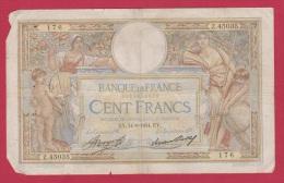 MERSON  //  100 FRANCS  // 14/6/1934  //  ETAT  TB // - 100 F 1908-1939 ''Luc Olivier Merson''
