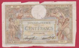 MERSON  //  100 FRANCS  // 5/7/1934  //  ETAT  B // - 100 F 1908-1939 ''Luc Olivier Merson''