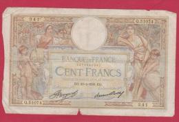 MERSON  //  100 FRANCS  //   24/6/1936   //  ETAT  B // - 100 F 1908-1939 ''Luc Olivier Merson''