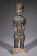 Art Africain Statue Colon Baoulé - Art Africain