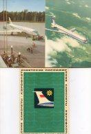 Carnet Complet De 10 Cartes - Aviation - URSS - Aerofloat -  CCCP- Avions - Planes -Hydroplane -  Hélicoptere- Turbojet - Pittsburgh