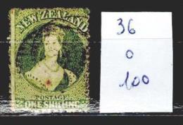 Nouvelle Zélande 36 Oblitéré Côte 100 € - Used Stamps