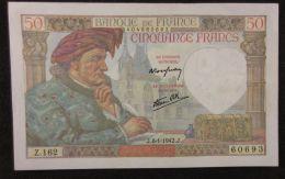 B00311 FA19 (18) 8/1/1942 NEUF - 1871-1952 Anciens Francs Circulés Au XXème