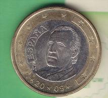 @Y@  Spanje  1   Euro     2009     Pr   (2389) - Spanje