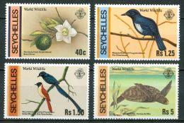 1991 Seychelles Fauna Animali Animals Animaux Set MNH** Po91 - Seychelles (1976-...)