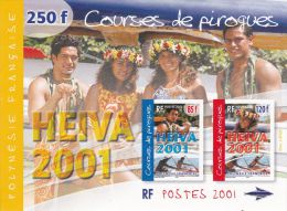 Bloc Feuillet N°27** HEIVA 2001 - Blokken & Velletjes