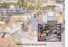 Bloc Feuillet N°28** AMPHILEX 2002 - Blokken & Velletjes