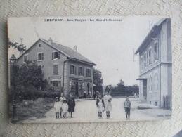 CHI13- 90 -  JBELFORT - LES FORGES - LA RUE D'OFFEMONT - Belfort – Le Lion