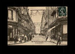 14 - TROUVILLE - La Rue De Paris - Crédit Lyonnais - Banque - Trouville