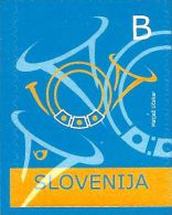 Slovenia - 2006 - Postal Horn - Mint Definitive Stamp - Slovénie