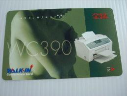 Xerox Prepaid Copy Card: WC390, USED - Phonecards