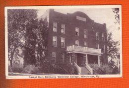 1 Cpa Garnet Hall Kentucky Wesleyan College Winchester - Etats-Unis