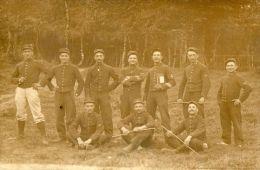 WW1 52° CHASSEURS CHAMBARAN CARTE PHOTO - Guerra 1914-18