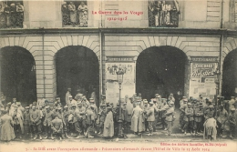 88 SAINT DIE AVANT L'OCCUPATION ALLEMANDE PRISONNIERS ALLEMANDS 1914 - Saint Die