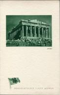 1935 NDL Athens Greece Dampfer General Von Steuben Ship Menu 9/9/35 - Menus