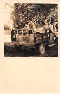 ��  -  Carte Photo non Situ�e  -  Jeune Femme dans un Camion    -  ��