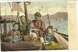 Chine - Life On A Sampan - - Chine