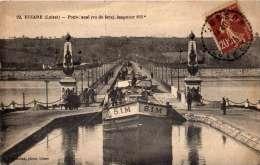 45 BRIARE Pont-Canal  (Vue De Façe)  Longueur 660métres Cpa Année 1925  Animée  N°22 - Briare