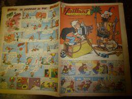 29 Janvier 1956  VAILLANT    Le Journal Le Plus Captivant - Vaillant