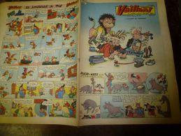 Février 1956  VAILLANT    Le Journal Le Plus Captivant - Vaillant