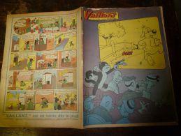 10 Février 1957  VAILLANT    Le Journal Le Plus Captivant     Hermann Geiger Le Sauveteur Des Cîmes - Vaillant
