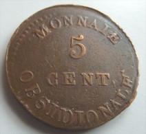 5 Centimes 1814 Sans Point Après Date - C. 5 Centesimi