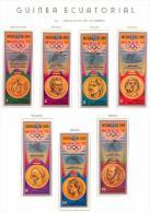 Guinea Ecuatorial Equatorial. 1972 (**)  Juegos Olimpicos Munich Olympic Games Gold Medals - Summer 1972: Munich