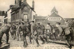 WW1  TROUPES ANGLAISES  ARMEE ANGLAISE BRITISH ARMY  LA FERTE GAUCHER - Guerra 1914-18