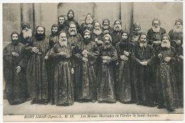 Mont Liban LM 12 Les Moines Maronites De L' Ordre De St Antoine - Liban