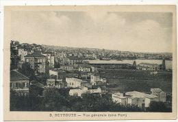 Beyrouth  Vue Generale Coté Port 3 Edit Cedres Liban Corm - Liban